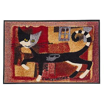Ivano avec souris 50 x 75 cm tapis de sol lavable de Rosina Wachtmeister