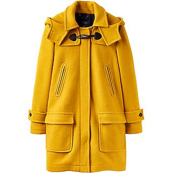 Joules Womens Woolsdale Double Faced Wool Blend Duffle Coat