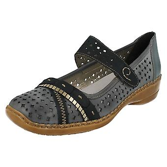 Ladies Rieker Casual Flat Shoes 41386