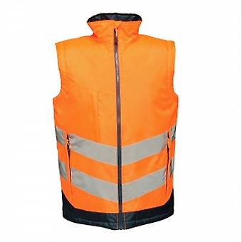 Regatta Professional Mens Hi Vis Pro Body Warmer