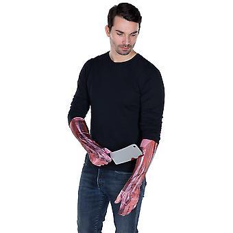 Anatómia rukavice svaly a šľachy tlačené príslušenstvo Karneval rukavice