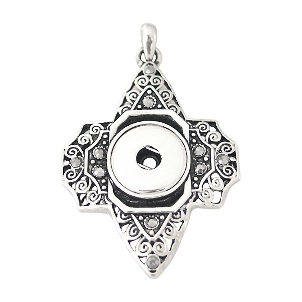 Stainless steel pendant for click buttons