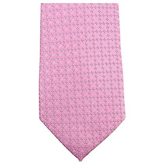 Knightsbridge Neckwear Small Floral Tie - Pink