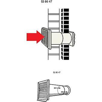 Wallair N37883 ventilationskanal (Ø) 15 cm
