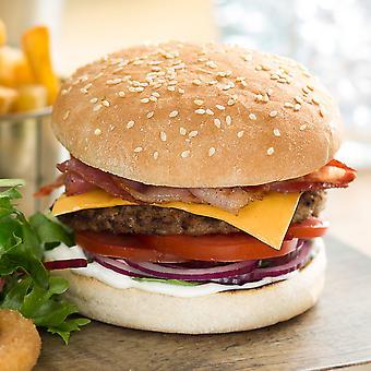 Kara Frozen MK4.5 Seeded Burger Buns 4.5inch