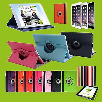 Schutzhülle Kunstleder 360 Grad Tasche für verschiedene Apple iPad