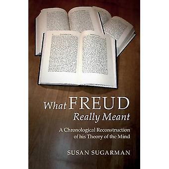 Freud naprawdę chodziło - chronologicznej rekonstrukcji jego teorii