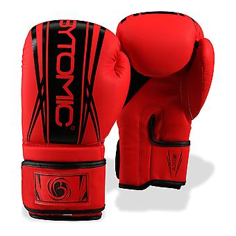 Bytomic eixo V2 luvas de boxe vermelho/preto