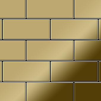 Metalowa mozaika z tytanu Alloy Subway-Ti-GM
