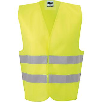 James and Nicholson Unisex Safety Vest