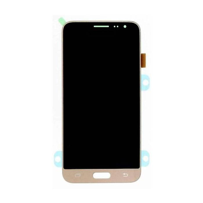 Stuff Certified® Samsung Galaxy J3 2016 Display (AMOLED + Touch Screen + Parts) A + Quality - Black / White / Gold