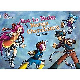 How to Make Manga tekens: Band 16/Diamond (Collins Big Cat)