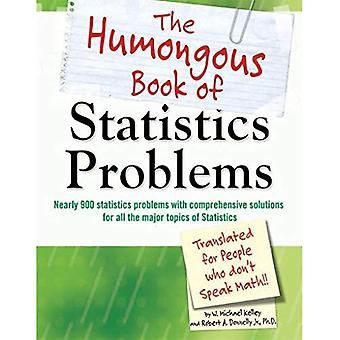 The Humongous Book of Statistics Problems: Translated for People Who Don't Speak Math!!