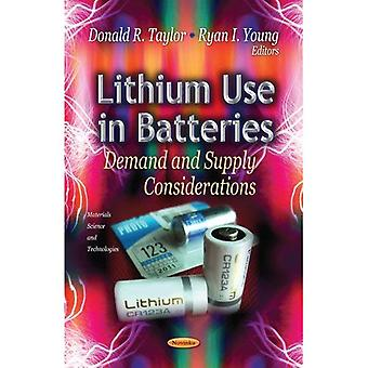 Lithium Use in Batteries
