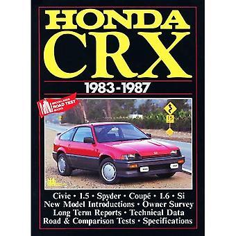 Honda CRX 1983-1987 (Brooklands boeken wegtests serie)