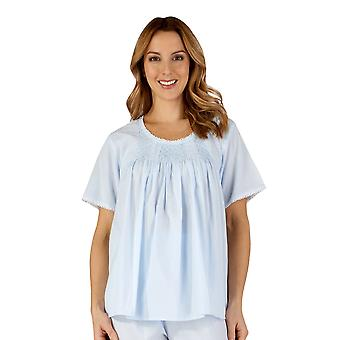 Coton Slenderella PJ3257 féminine tissé ensemble Pyjama pyjama
