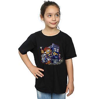 Poopsmoothie Arzt Fink T-Shirt für Mädchen