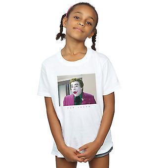 DC Comics Batman TV-Serie Joker Foto T-Shirt für Mädchen