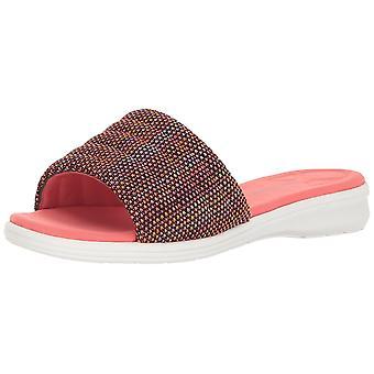 Aerosoles damskie Świetne połączenie tkaniny Open Toe slajdów Casual sandały