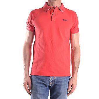 Woolrich Ezbc033010 Men's Red Cotton Polo Shirt