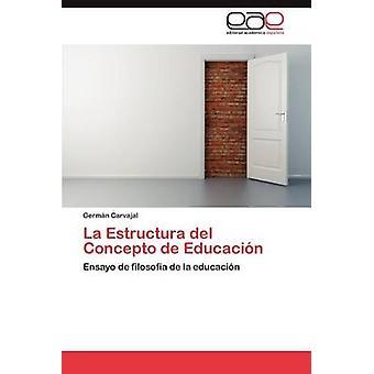 La Estructura del Concepto de Educacion par Carvajal & germe N.