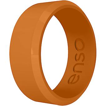 Enso Rings Classic Bevel Series Silicone Ring - Burnt Orange