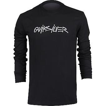 Quiksilver Herren Rocco Ketten LS Shirt - schwarz