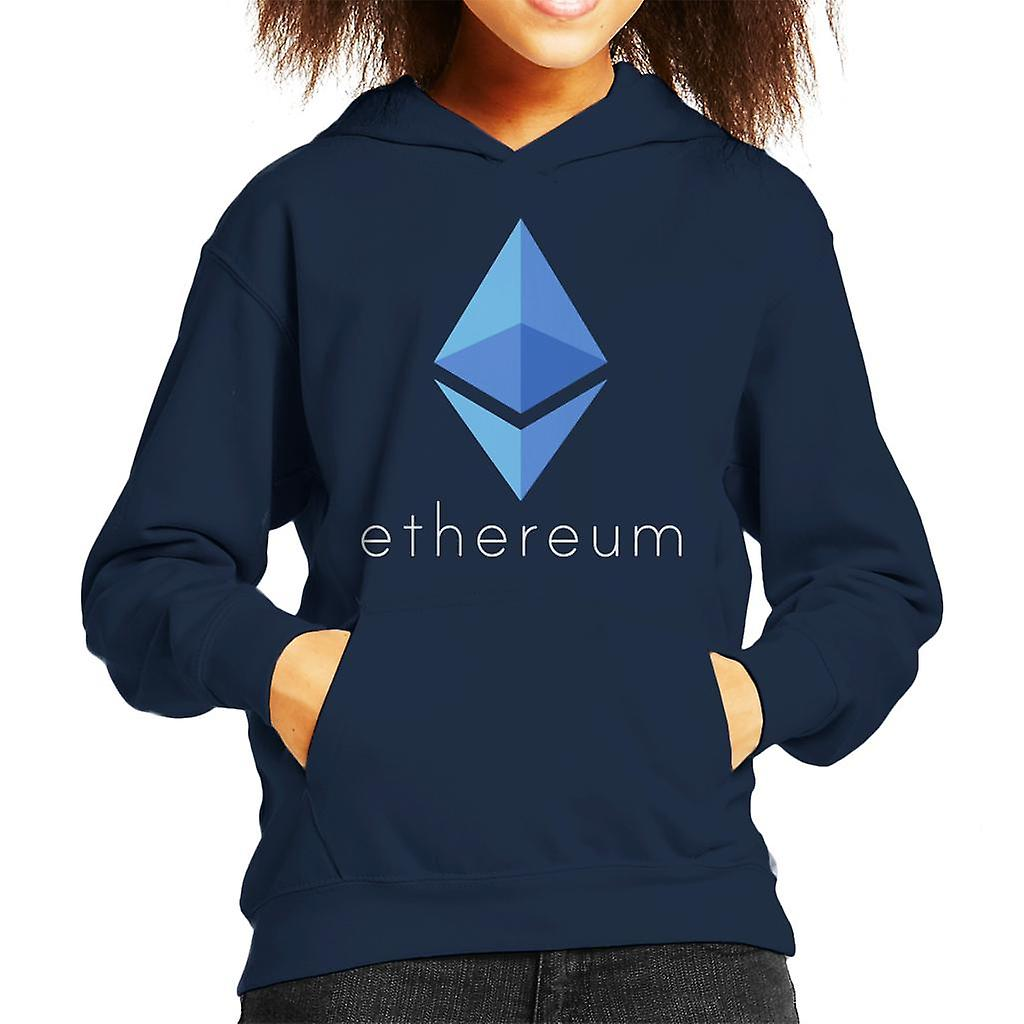 Etherium Logo Kid de Hooded Sweatshirt