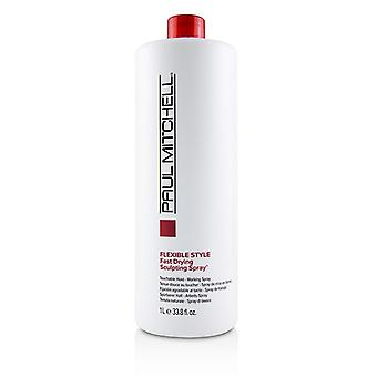 Paul Mitchell Flexible Style Fast Drying Sculpting Spray (touchable Hold - Working Spray) - 1000ml/33.8oz