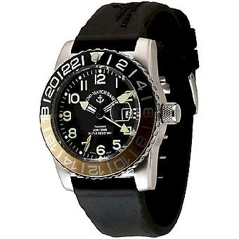 Zeno-watch mens watch airplane diver automatico 6349GMT-12-a1-9