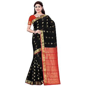Sonal Black Art Silk Sari Saree Bellydance Wrap