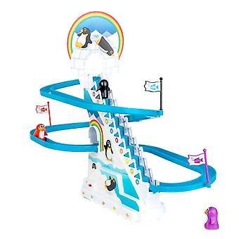 Playful Penguin Race Toys for Children
