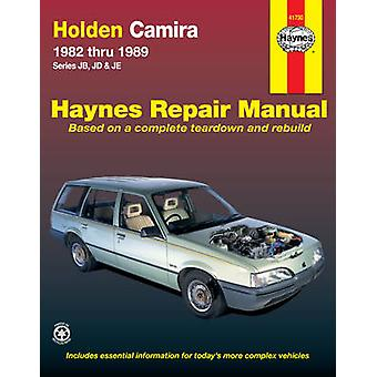 Holden Camira Australian Automotive Repair Manual - 1982-1989 by Holde
