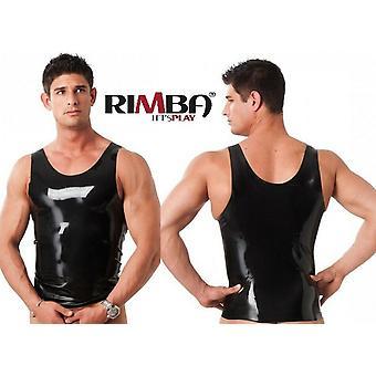 Rubber Secrets' Mens Shiny Vest (R9029)
