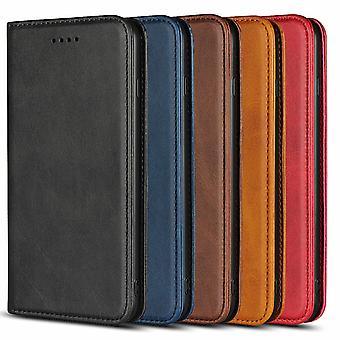 Portafoglio magnetico Caso Samsung Galaxy S8 Plus