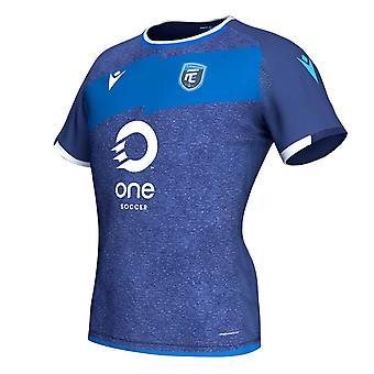 2019-2020 FC Edmonton autentiska hemma match skjorta