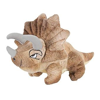 Finger Puppet - Dinosaur Finger Puppet - Triceratops Soft Doll Plush PC002196