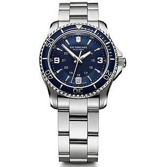 Victorinox maverick Quartz Analog Women's Watch with Stainless Steel Bracelet V241609