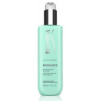 Biosource D Milk Make-up and Purifying - Mixed Normal Skin
