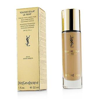Yves Saint Laurent Touche Eclat Le Teint Awakening Foundation Spf22 - #bd60 Warm Amber - 30ml/1oz
