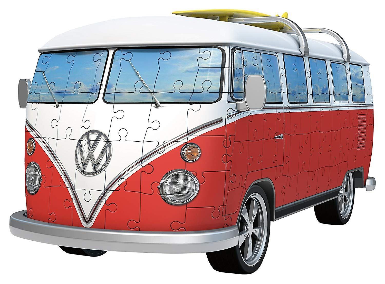 Jigsaw 3D VW T1 Campervan by Ravensburger No 12 516 6
