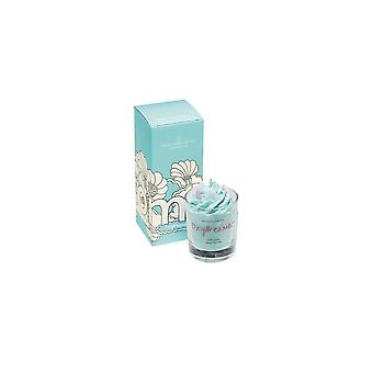 Bomb Cosmetics Piped Glass Candle - Daydreamer