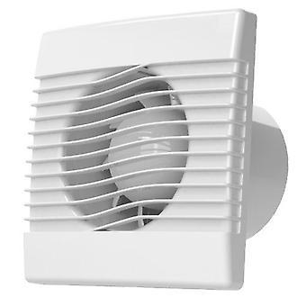 Kaliteli Mutfak Çıkarıcı Fan 100-150mm Zamanlayıcı Nem Sensörü Çekme Kablosu pRim