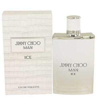 Jimmy Choo Ice av Jimmy Choo Eau de Toilette Spray 3,4 oz (herrar) V728-536765