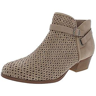 Giani Bernini Womens Dorii Faux Suede Perforated Ankle Boots