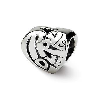 925 Sterling Sølv finish Reflections SimStars True Love Bead Charm Vedhæng halskæde smykker gaver til kvinder