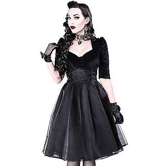 Restyle Velvet Prom Dress