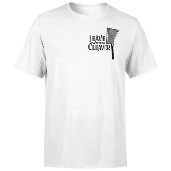 Leave It To The Cleaver T-Shirt - White