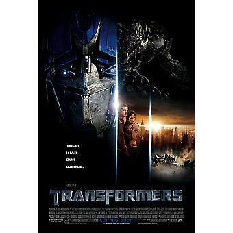 Transformers (Double Sided International) (2007) Original Cinema Poster