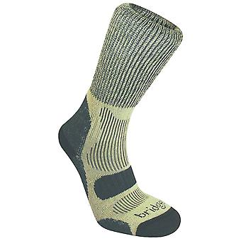 Bridgedale Charcoal Mens Lightweight Cotton Cool Comfort Sock